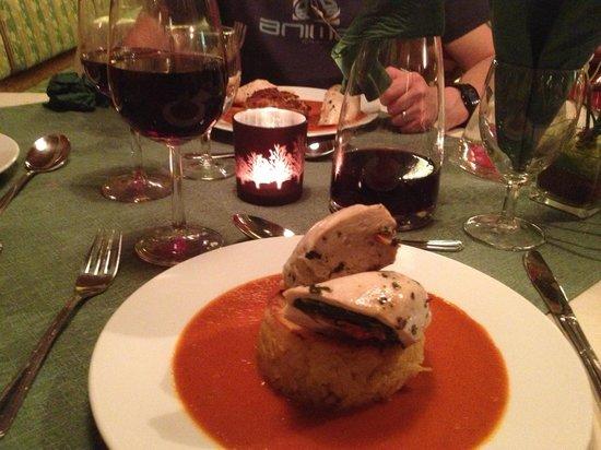 Pension Hoffelner: great food and wine