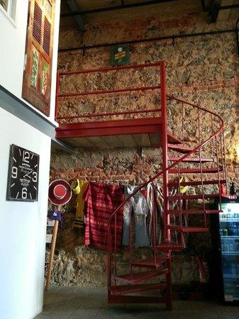 Manga Hostel: Sala de estar/Recepção