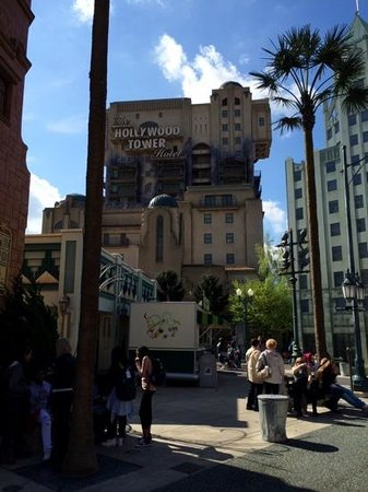 Walt Disney Studios: tower of terror great ride