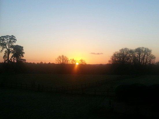 Park House Hotel : Sun rise over Sandringham Park.