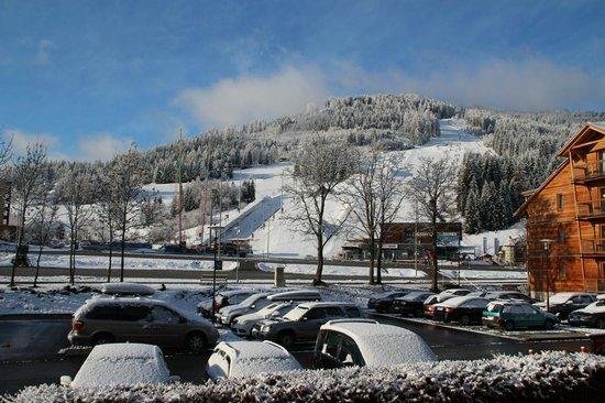 Club Appartement-Hotel am Kreischberg: Blick aus dem Fenster