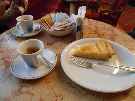 gianduja e pistacio gelato!! - Picture of Caffe Fiorio, Turin ...
