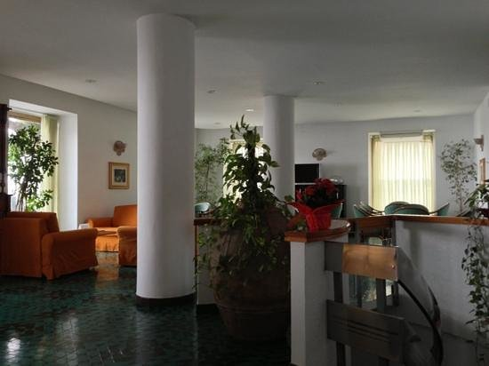 Hotel la Bussola: Lounge & bar area