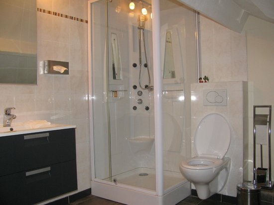 B&B Aan de Maas : badkamer