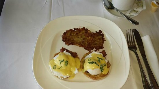 Old Stone Inn Boutique Hotel: Eggs Benedict