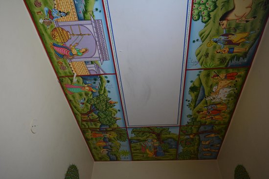 Sunder Palace Guest House: Colorful Canopy