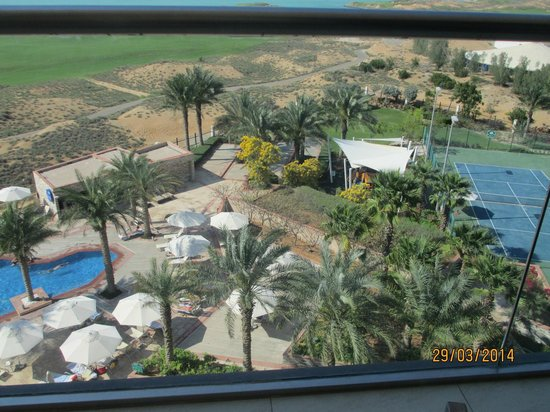 Park Inn by Radisson Abu Dhabi Yas Island: View from the room