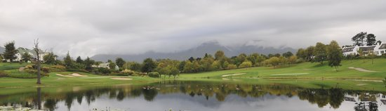 Fancourt: the walking track and gold course