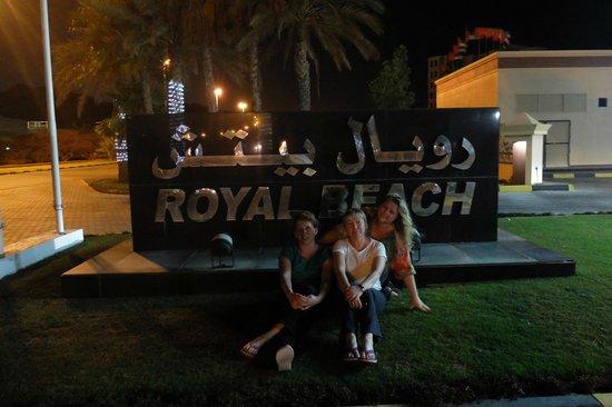 Royal Beach Hotel & Resort: Въезд в отель
