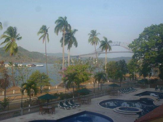 Country Inn & Suites By Carlson, Panama Canal, Panama: Blick auf Puente de las AmericAS