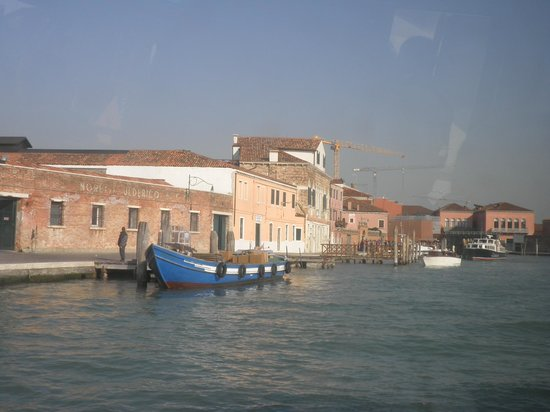 Fornace Mian: Arriving in Murano.
