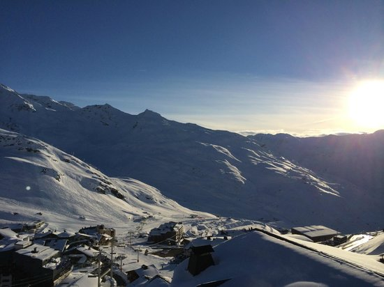 Residence Les Balcons de Val Thorens : View from the balcony