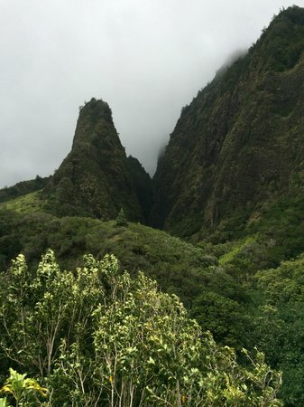 Iao Valley State Monument: short stroll in the hills