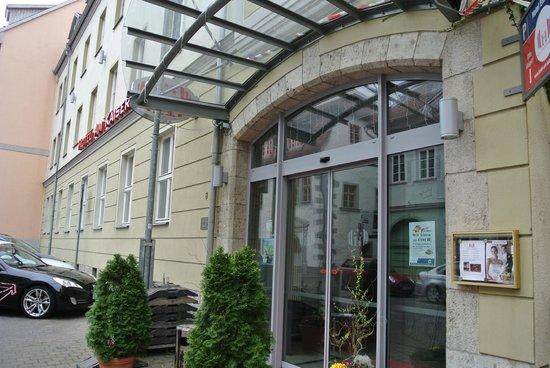 Hotel Am Kaisersaal: Eingang