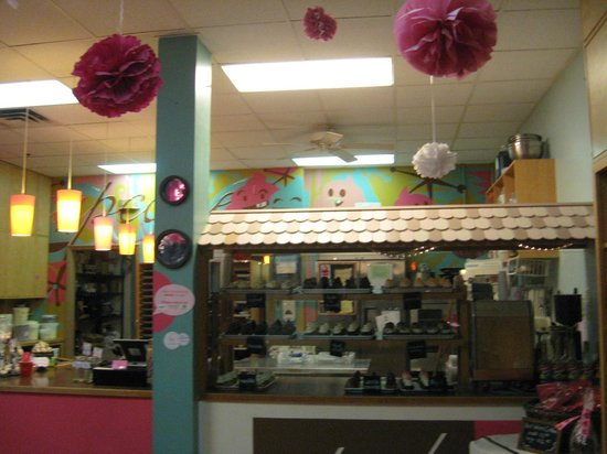 Cupcake DownSouth: Indoor area