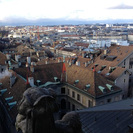 Hotel Kipling - Manotel Geneva : The view from the Tower