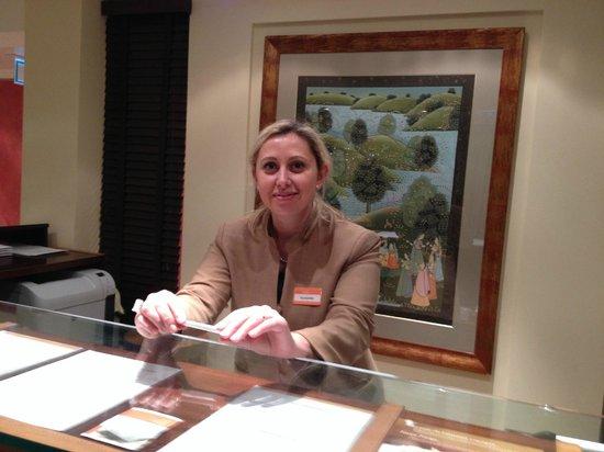 Hotel Kipling - Manotel Geneva: Yordanka, very cheerful and helpful