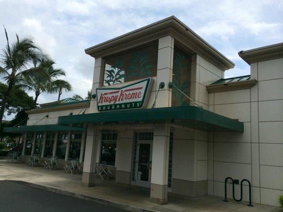 Krispy Kreme Doughnuts: best donuts on maui