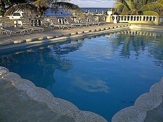 Cariblue Hotel and Scuba Resort: Pool Lounge