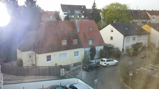 Klughardt Hotel: View from 3rd floor room