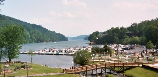 Rumbling Bald Resort on Lake Lure: marina