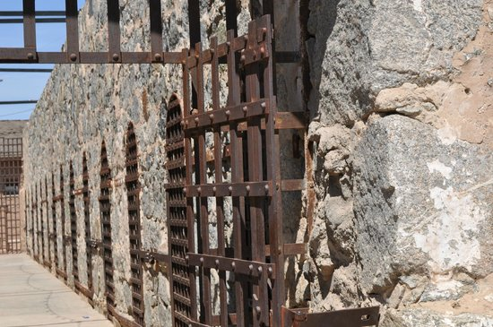 Yuma Territorial Prison State Historic Park : Outside the Yard