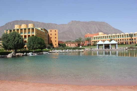 Strand Beach and Golf  Resort Taba Heights : Лагуна