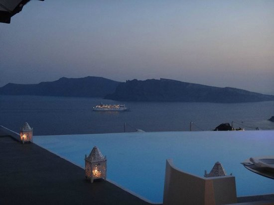 Kirini Suites & Spa: Vista do restaurante