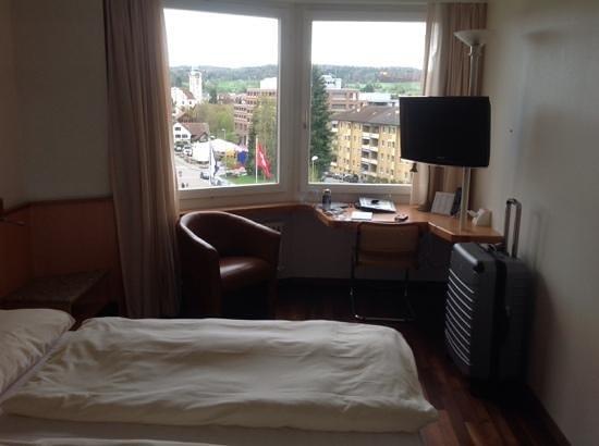 Hotel Welcome Inn: ander sicht vom Zimmer
