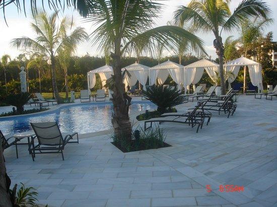 Luxury Bahia Principe Bouganville: Spa Area, very quiet