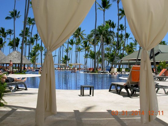 Barcelo Bavaro Beach - Adults Only : Beneath the canopy.