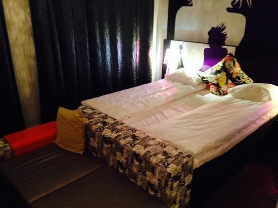 Comfort Hotel Boersparken: fint rom, men trikken