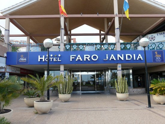 Hotel Faro Jandia & Spa : The hotel entrance