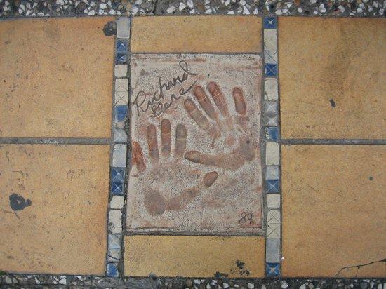 La Croisette: Ладошки Ричарда Гира