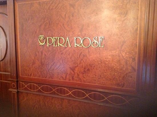 Pera Rose Hotel: lobby