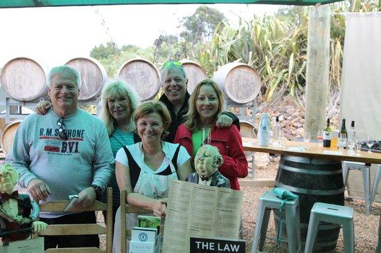 Isla Waiheke, Nueva Zelanda: Connie Festa - Owner - Peacock Sky Winery