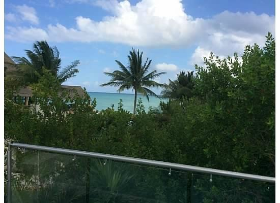 Fairmont Mayakoba: Limited ocean view from roof deck