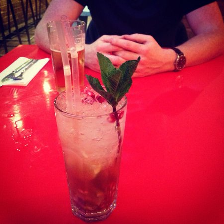 GPT Smokehouse: Pomegranate mojito! Fresh and gorgeous! Could have had many many more than two!
