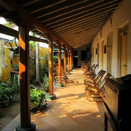 Casa Hotel Villa de Mompox : Yard