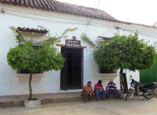 Casa Hotel Villa de Mompox : Entrance