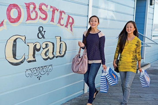 Pier 39: Enjoy two levels of dining, entertainment, shopping and attractions