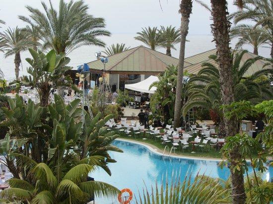 R2 Rio Calma Hotel & Spa & Conference : No-go area. Pool bar and a-la-carte restaurant