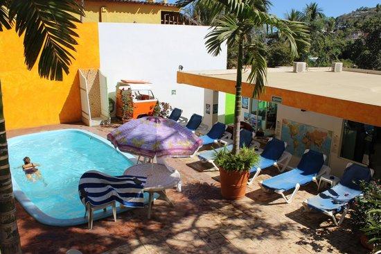 The Amazing Hostel Sayulita : pool