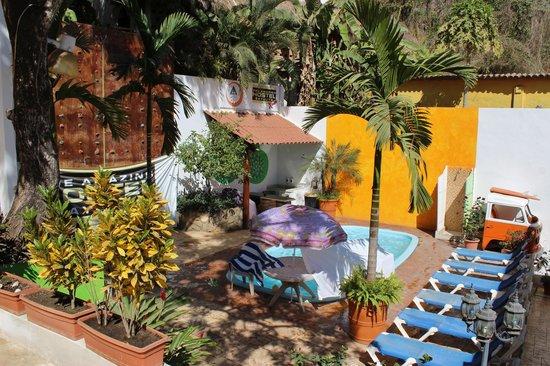 The Amazing Hostel Sayulita : deck