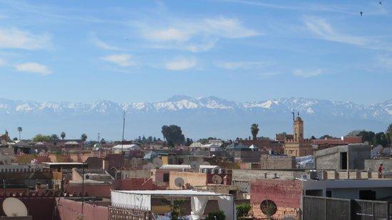 Riad Andalla: Vista do terraço