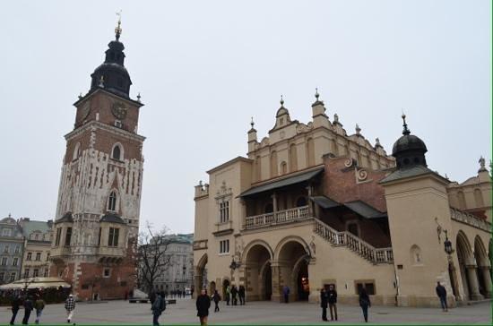 Rynek Główny : Market square.