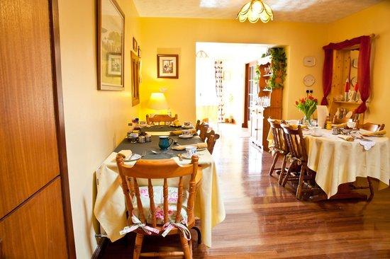 The Gap Lodge: Dinning Room