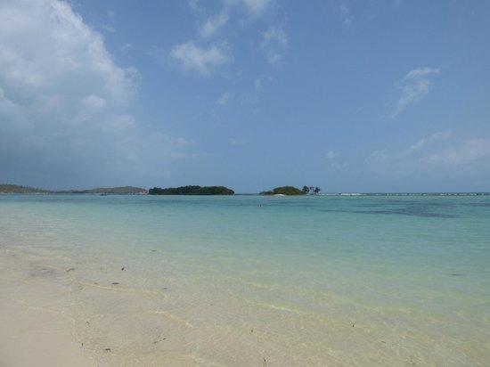 Chaweng Garden Beach Resort: spiaggia davanti hotel