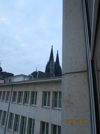 Hilton Köln: A little view from the room