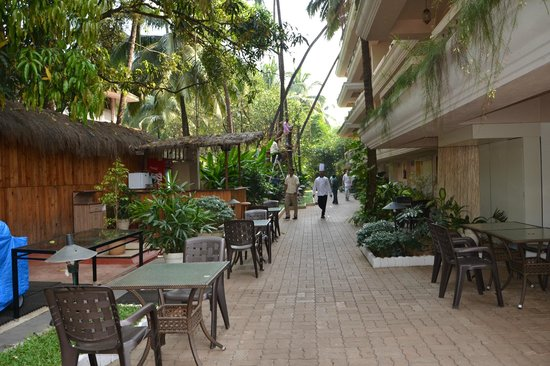 Ocean Palms Goa : в отеле